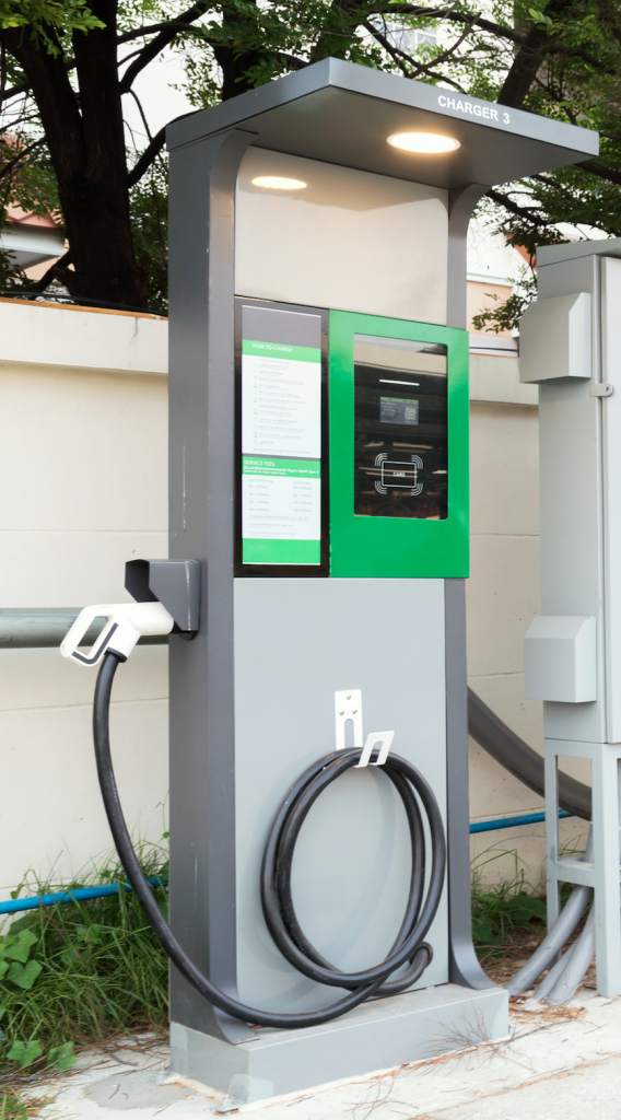 Commercial EV Charger Install